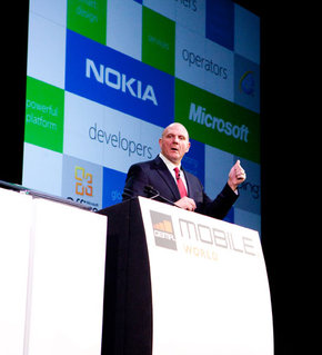 Steve Ballmer explains why the consumer business is all about the vendors