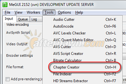 Open the MeGUI Chapter Creator - AfterDawn.com