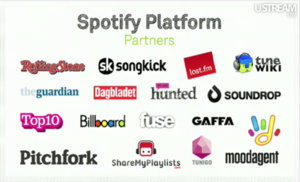 Spotify now open to third-party apps