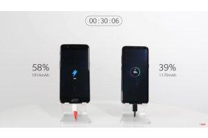 OnePlus vertasi uutuuspuhelimen akkuteknologiaa Galaxy S8:aan, lataus huimasti nopeampaa
