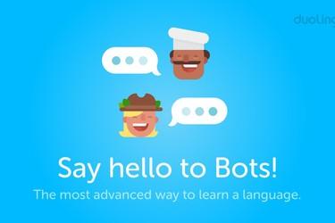 Duolingon uusi ominaisuus: Opi uusi kieli bottikeskusteluilla