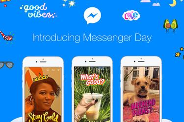 Facebook hyökkää Snapchatia vastaan – Messenger Day on kaikkien saatavilla