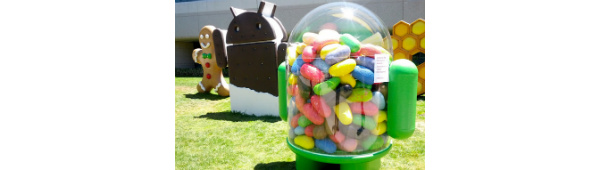 Jelly Bean skulptur finder vej til Googles grsplne