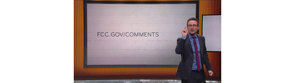 FCC website hit by attack following John Oliver plea