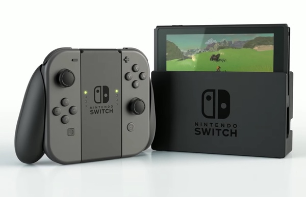 Nintendo explains how to use their upcoming game console Switch