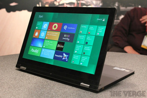 CES: Lenovo shows off Yoga; Windows 8 tablet/notebook