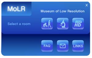 Sony promotoi Blu-rayt� huumoripitoisella museosivustolla