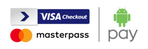 Android Pay now accepted wherever Visa Checkout and Masterpass are