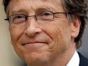 Gates ranked as fourth most powerful person in the world