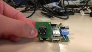 Raspberry Pi mini-PC getting camera module