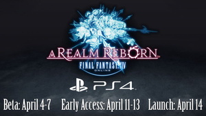 Final Fantasy XIV beta on PS4 open to all