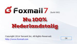 Foxmail nu 100% in het Nederlands