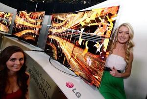 CES 2014: LG unveils flexible 77-inch 4K OLED TV