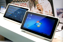 CES 2011: MSI shows Android, Windows tablets