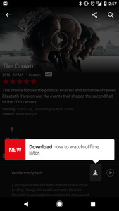 Netflix now supports Film and TV Series downloads for Offline Viewing