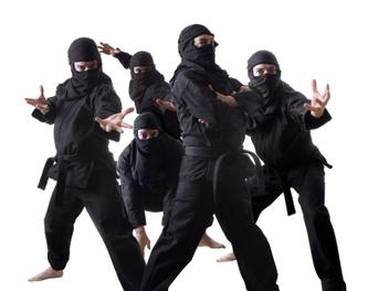 No, Steve Jobs is not a ninja