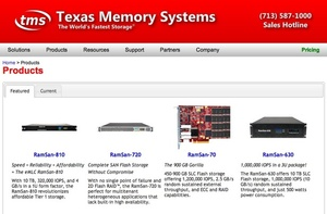 IBM acquires flash memory company TMS