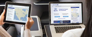 United Airlines adds Wi-Fi for international flights