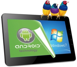 ViewSonic reveals tablet that dual-boots Android, Windows 7