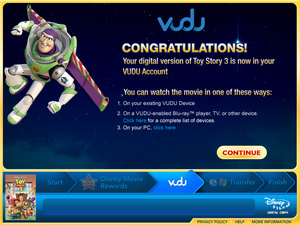 Vudu starts 'Toy Story 3' digital copy promotion with physical purchase
